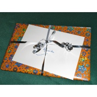 Gift wrap and card